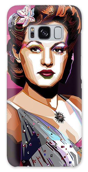 Betty Grable Galaxy Case