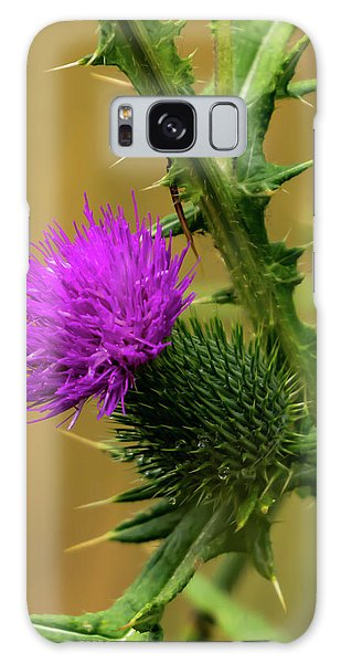 Between The Flower And The Thorn Galaxy Case
