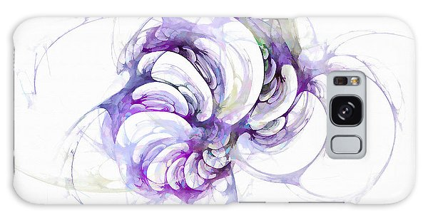 Beyond Abstraction Purple Galaxy Case