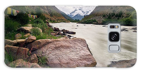 Galaxy Case featuring the photograph Bhag River by Whitney Goodey