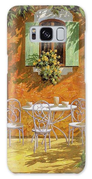 Table Galaxy Case - Bianco Su Giallo by Guido Borelli