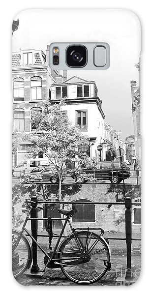 Brick House Galaxy Case - Bicycle And Lamp The Netherlands by K.jakubowska