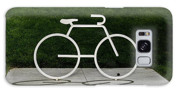 Galaxy Case featuring the photograph Bicycle by Randy Scherkenbach