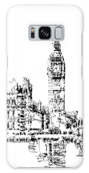 Galaxy Case featuring the digital art Big Ben by ISAW Company