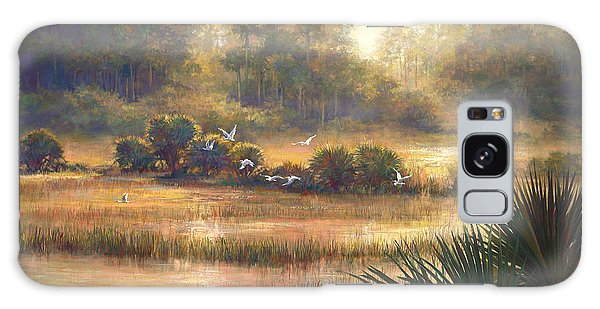 Old Florida Galaxy Case - Big Cypress by Laurie Snow Hein