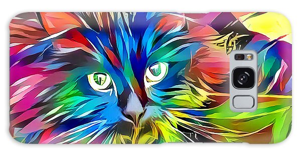 Big Whiskers Cat Galaxy Case