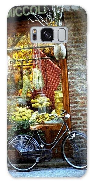 Bike In Sienna Galaxy Case