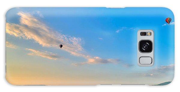 Binghamton Spiedie Festival Air Ballon Launch Galaxy Case