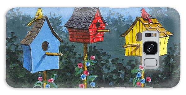 Bird House Lane Sketch Galaxy Case