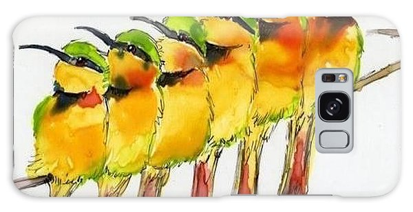 Birds On A Wire Galaxy Case