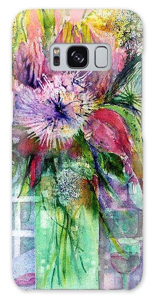 Birthday Flowers Still Life Galaxy Case