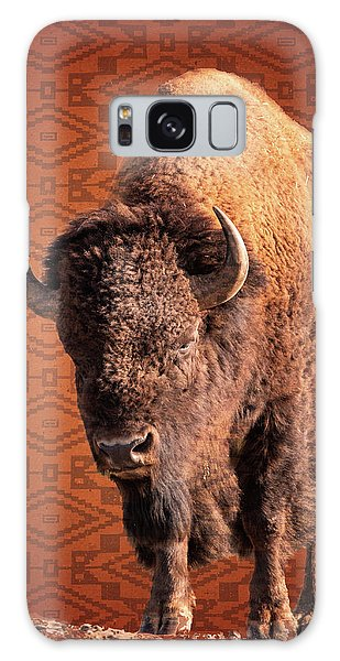Bison Blanket Galaxy Case