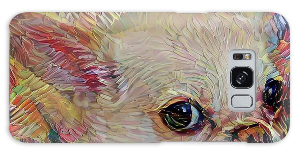 Bitsy The Chihuahua Galaxy Case