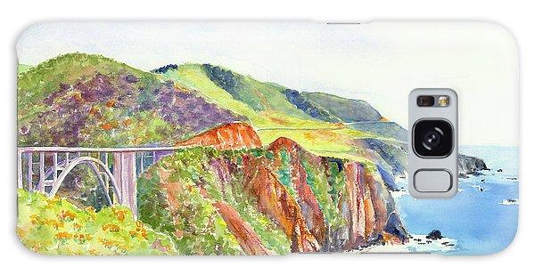 Bixby Bridge 2 Big Sur California Coast Galaxy Case