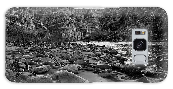 Geology Galaxy Case - Black And White View Of The Grand by Darren J. Bradley