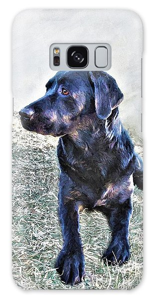 Black Labrador Retriever - Daisy Galaxy Case