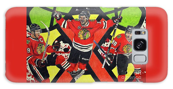Blackhawks Authentic Fan Limited Edition Piece Galaxy Case