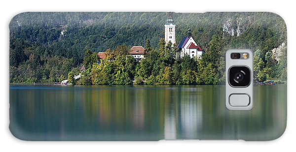 Galaxy Case featuring the photograph Bled Island by Davor Zerjav