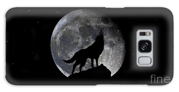 Pre Blood Red Wolf Supermoon Eclipse 873r Galaxy Case