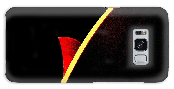 Bloodmoonrise Abstract Galaxy Case