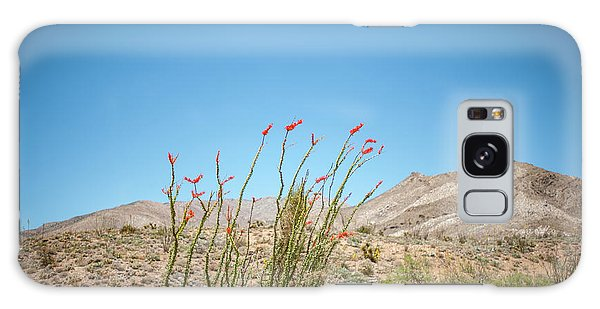Blooming Ocotillo Galaxy Case