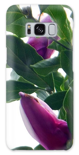 Blossoming Magnolias Galaxy Case
