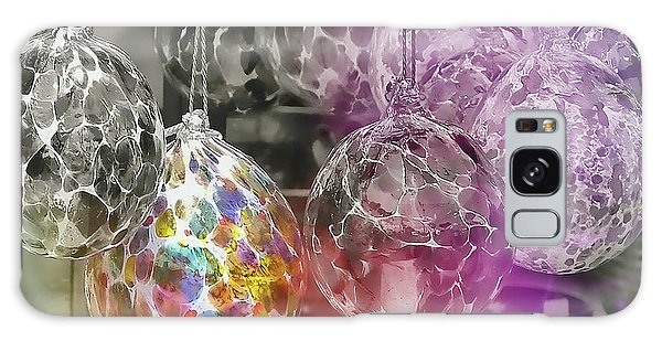 Blown Glass Ornaments Galaxy Case