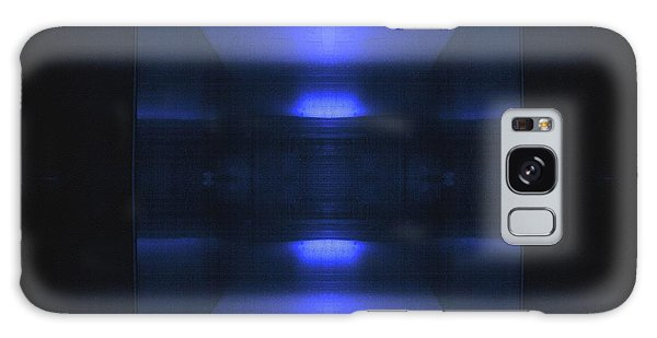 Fashion Plate Galaxy Case - Blue Aluminum Surface. Metallic Geometric  Fashion Background by Rudy Bagozzi
