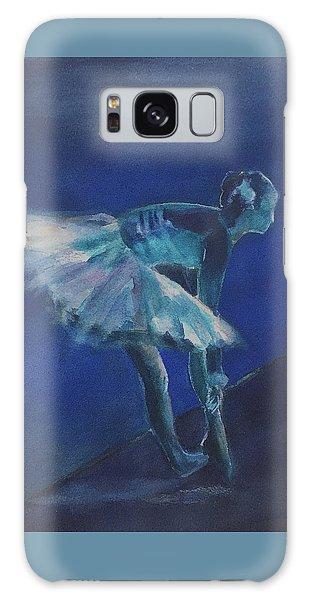Blue Ballerina Galaxy Case