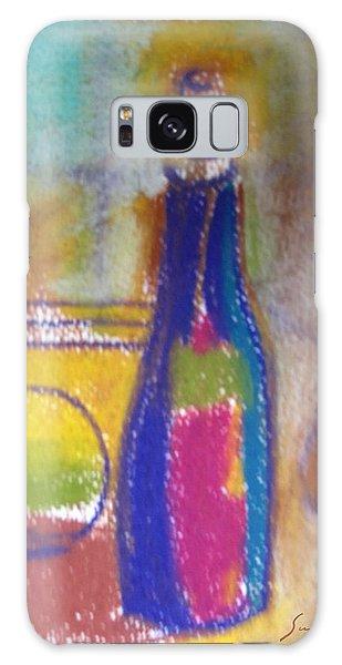 Blue Bottle Galaxy Case