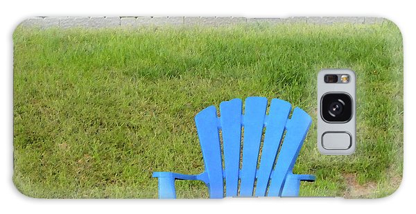 Blue Chair Galaxy Case