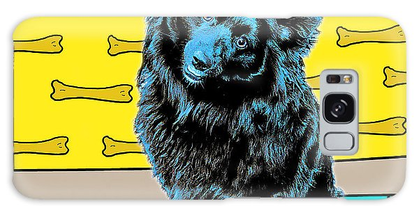 Galaxy Case featuring the photograph Blue Dog by Lou Novick
