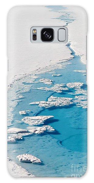 Natural Galaxy Case - Blue Glacier Lake by Incredible Arctic