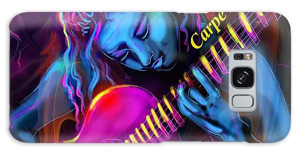 Blue Heart, Carpe Diem Galaxy Case