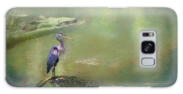 Blue Heron Isolated Galaxy Case