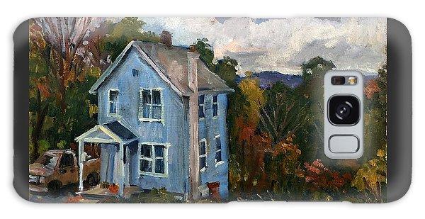 Blue House October Galaxy Case