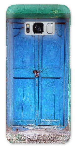 Blue Indian Door Galaxy Case