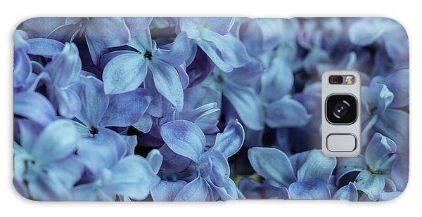 Galaxy Case featuring the photograph Blue Lilacs by Mark Shoolery