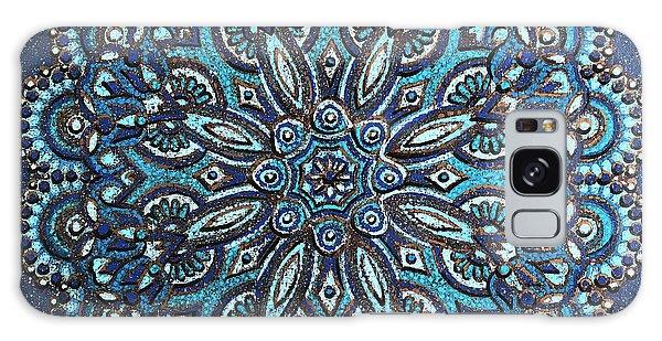 Blue Mandala Galaxy Case