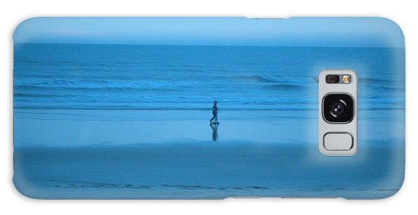 Blue Morning Stroll Galaxy Case