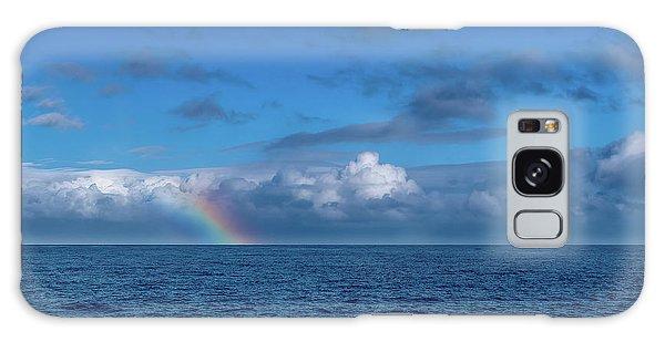 Blue Rainbow Horizon Galaxy Case
