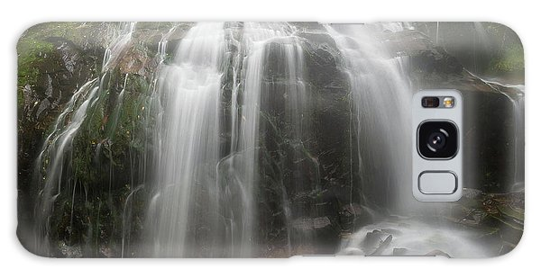 Blue Ridge Mountain Falls Galaxy Case