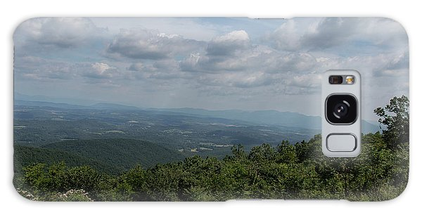 Galaxy Case - Blue Ridge Mountain Views II by Suzanne Gaff