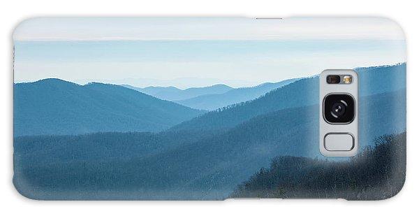 Blue Ridge Mountains Galaxy Case