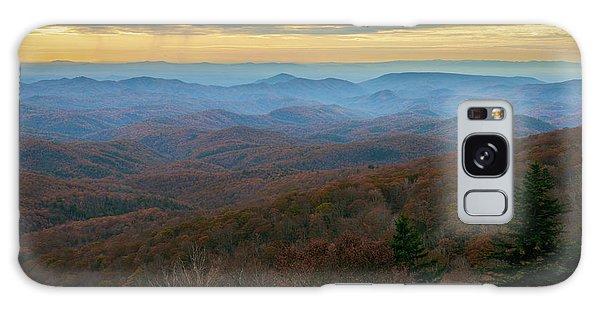 Blue Ridge Parkway - Blue Ridge Mountains - Autumn Galaxy Case
