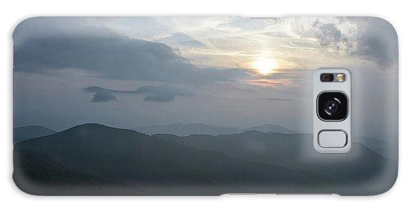 Blue Ridge Parkway Sunset Galaxy Case