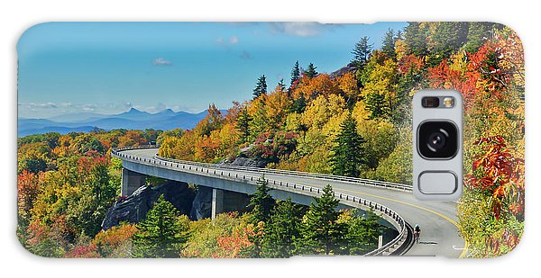 Blue Ridge Parkway Viaduct Galaxy Case