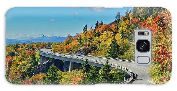 Blue Ridge Parkway Viaduct Galaxy Case