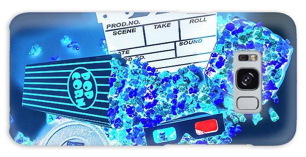 Pass Galaxy Case - Blue Screen Entertainment by Jorgo Photography - Wall Art Gallery