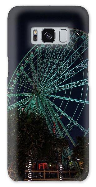 Blue Wheel Galaxy Case